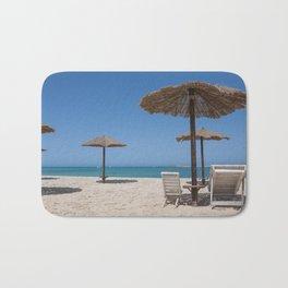 Beach on Boa Vista Capo Verde Bath Mat