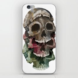 Getting by with a little death from your friends. iPhone Skin