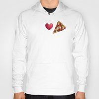 pizza Hoodies featuring Pizza  by Anderssen Creative Imaging