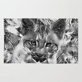 AnimalArtBW_Cougar_20170601_by_JAMColorsSpecial Rug