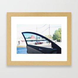 tint vision Framed Art Print