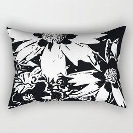 Loose Flowera Rectangular Pillow