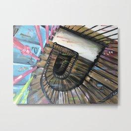 Stairwell at 39 Rue de Rivoli, Paris Metal Print