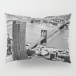 Brooklyn Bridge View - New York City Pillow Sham