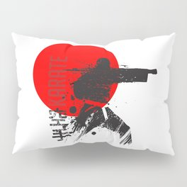 Karate Japan Pillow Sham