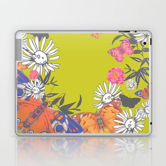 Flutterbies Laptop & iPad Skin