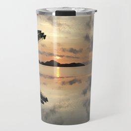 Sunset over Water Travel Mug