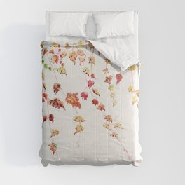 Vines Watercolor Comforters