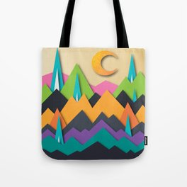 The Glass Mountains Tote Bag