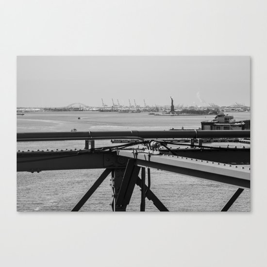 NYC Statue of Liberty Canvas Print