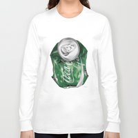 coca cola Long Sleeve T-shirts featuring Coca-Cola Life by Kenny Risk