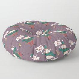 Little Helpers on Strike (Patterns Please) Floor Pillow