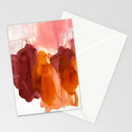 abstract painting X Stationery Cards