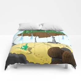 Part 3: Brontosorus Crashes Comforters