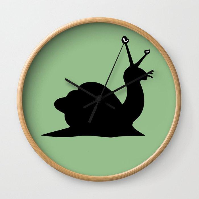 Angry Animals - Snail Wall Clock