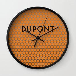 DUPONT | Subway Station Wall Clock