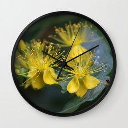 Copenhagen Yellow Wall Clock