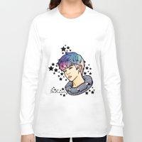 exo Long Sleeve T-shirts featuring [EXO] - Sehun Galaxy by sagwa