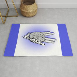 Go Forth and Prosper Zentangle Greeting Rug