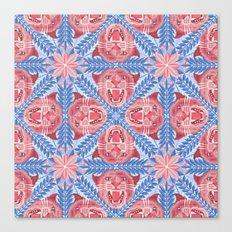 Pink Panther Pattern Canvas Print