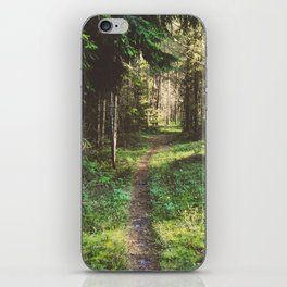 In The Heart Of The Woods iPhone Skin