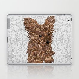 Cute Yorkie Laptop & iPad Skin
