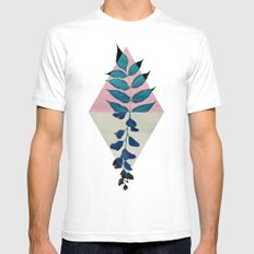 Geometry and Nature I SMALL White Mens Fitted Tee