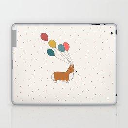 HAPPY NEW YEAR CORGI Laptop & iPad Skin