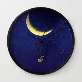 Lunar Flight Wall Clock