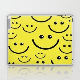 SMILEY FACE Abstract Art Laptop & iPad Skin