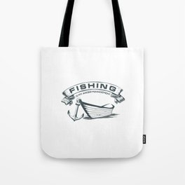 Fishing is my Management Tote Bag