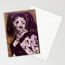 Dead Left Eye Stationery Cards