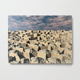 Surface of Another World Metal Print