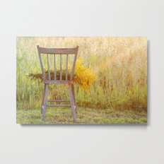 Remnants of a Summer Day Metal Print