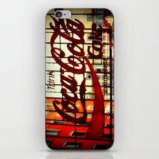 Trink Coca~Cola iPhone & iPod Skin