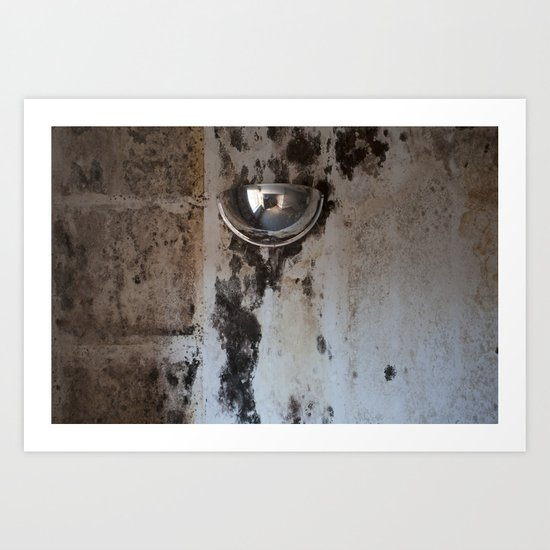 Domed Mirror Art Print