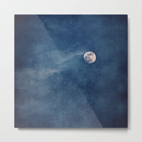 Full Moon Magic Metal Print