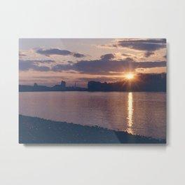 Greenwich Sunset (1) Metal Print