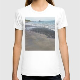 Black sand beach, El Salvador T-shirt