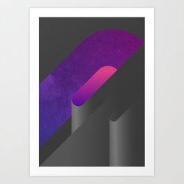 Geometric Composition 15 Art Print
