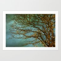 lights Art Prints featuring Magical by The Last Sparrow