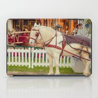 carousel iPad Cases featuring Carousel by Sébastien BOUVIER