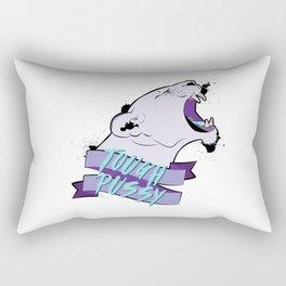 Tough Pussy Rectangular Pillow