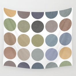 circles of color Wall Tapestry