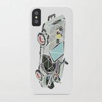 delorean iPhone & iPod Cases featuring The Delorean by Josh Ln