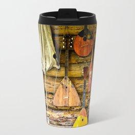 Folk musical instruments Travel Mug
