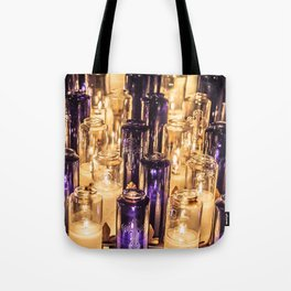 Cathedral Candles Tote Bag