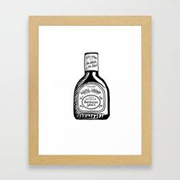 Home Grown BBQ Framed Art Print