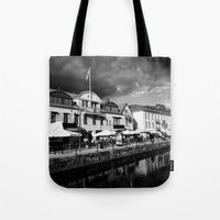 sweden Tote Bags featuring Sweden by alexaxm