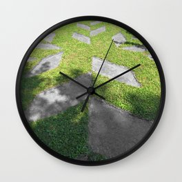 Crystal Ice Wall Clock